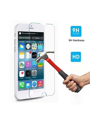 iPhone 4S Tempered Glass Çizilmez Cam Ekran Koruyucu -Kingshark